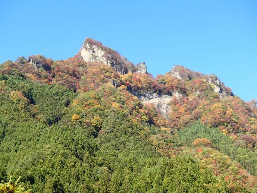 立岩(10月の)