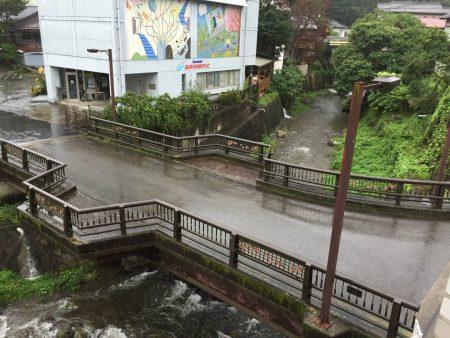 明日は、川の水が濁るんだろうな(^◇^;)